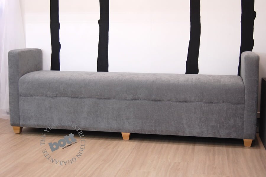 modern storage Ottoman with arms. Storage Ottoman with arms Bott Handmade  Sofas Ltd - Storage Ottoman With Arms - MobileCmeOutcomes.com