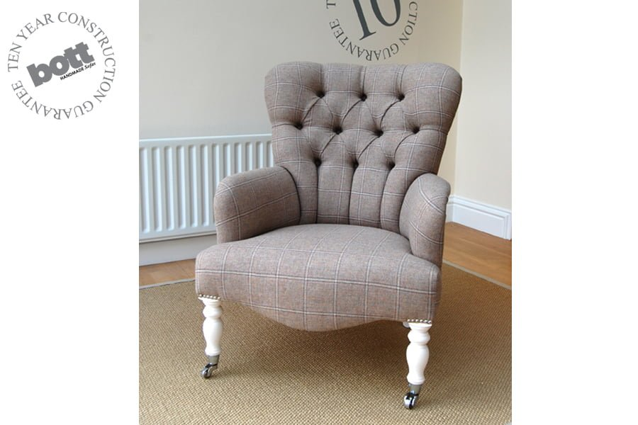 victoria bedroom chair bott handmade sofas ltd 17321 | victoria land