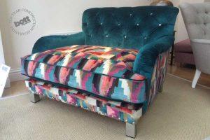 Oakley cuddler chair